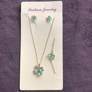 Jewelry - St. Patrick's Day Costume Jewelry Set, Brand New